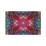 Shimmering Jewel Rectangle Magnet