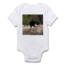 ostrich 6 Infant Bodysuit