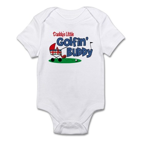 Daddy's Little Golfin' Buddy Infant Bodysuit