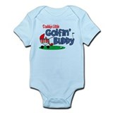 Daddy's Little Golfin' Buddy Onesie