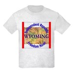 Wyoming-3 Kids Light T-Shirt
