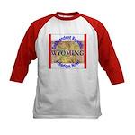 Wyoming-3 Kids Baseball Jersey