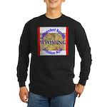Wyoming-3 Long Sleeve Dark T-Shirt