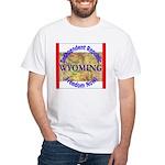 Wyoming-3 White T-Shirt
