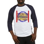 Wyoming-3 Baseball Jersey