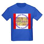 Wyoming-1 Kids Dark T-Shirt