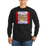 Wyoming-1 Long Sleeve Dark T-Shirt
