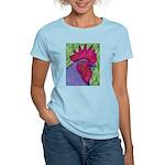 Red/Purple Rooster Women's Light T-Shirt