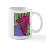 Red/Purple Rooster Mug