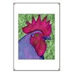 Red/Purple Rooster Banner