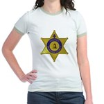 Riverside Sheriff Jr. Ringer T-Shirt