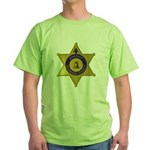 Riverside Sheriff Green T-Shirt