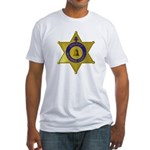 Riverside Sheriff Fitted T-Shirt