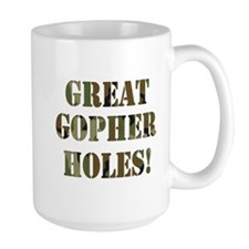 Great Gopher Holes Mug