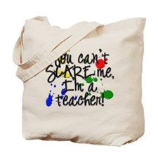 Scare Teacher Tote Bag