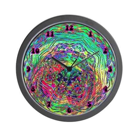 Cosmic Swirl Wall Clock