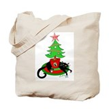 """Zack's Holiday Attack"" Tote Bag"