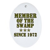 Swamp Member Oval Ornament