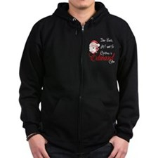 Edward Cullen for Christmas Zip Hoodie
