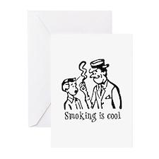 Smoking is cool Greeting Cards (Pk of 10)