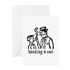 Smoking is cool Greeting Card