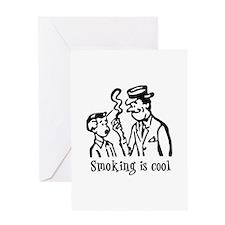 Smoking is cool Greeting Card