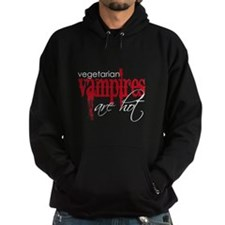 Vegetarian Vampires are Hot Hoodie