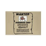 Chef Rectangle Magnet (100 pack)