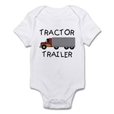 Tractor Trailer Infant Bodysuit
