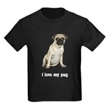 I Love My Pug T
