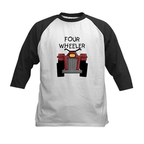Four Wheeler Kids Baseball Jersey