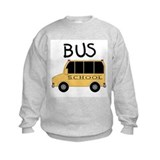 School bus Crew Neck