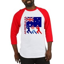Australia Cricket Baseball Jersey