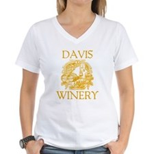 Davis Last Name Vintage Winery Shirt
