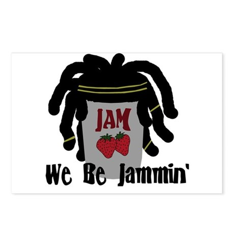 Riyah-Li Designs We Be Jammin Postcards (Package o