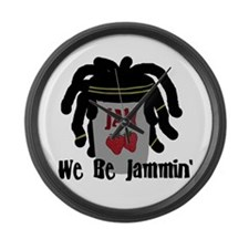 Riyah-Li Designs We Be Jammin Large Wall Clock
