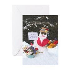 Unique Think snow Greeting Cards (Pk of 10)