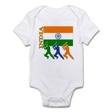 India Cricket Infant Bodysuit