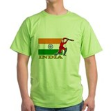 India Cricket Player T-Shirt