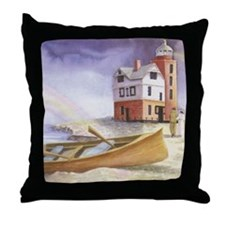 """The Lighthouse"" Throw Pillow"