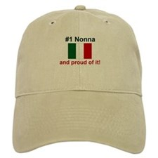 #1 Nonna (Grandmother) Baseball Cap