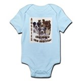 Many Aussies Infant Bodysuit