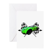 Lotus Racing Greeting Cards (Pk of 10)