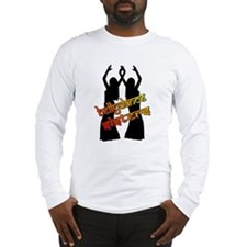 Bellydance Sisters fire Long Sleeve T-Shirt