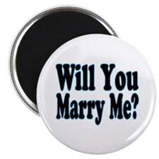"Will You Marry Me? His 2.25"" Magnet (100 pack)"