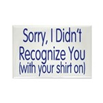 Shirt On Rectangle Magnet (10 pack)