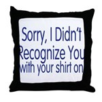 Shirt On Throw Pillow