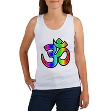 Om - Rainbow Women's Tank Top