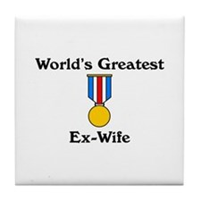 WG Ex-Wife Tile Coaster