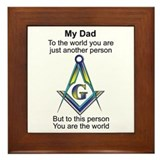 Masonic Framed Tiles